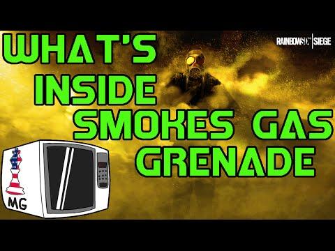 What's Inside Smokes Gas Grenade? - Rainbow Six Siege
