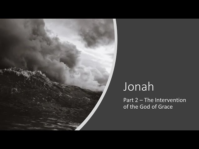 Jonah, Part 2 · 210725 · 9 AM Sunday School · Ross Kilfoyle