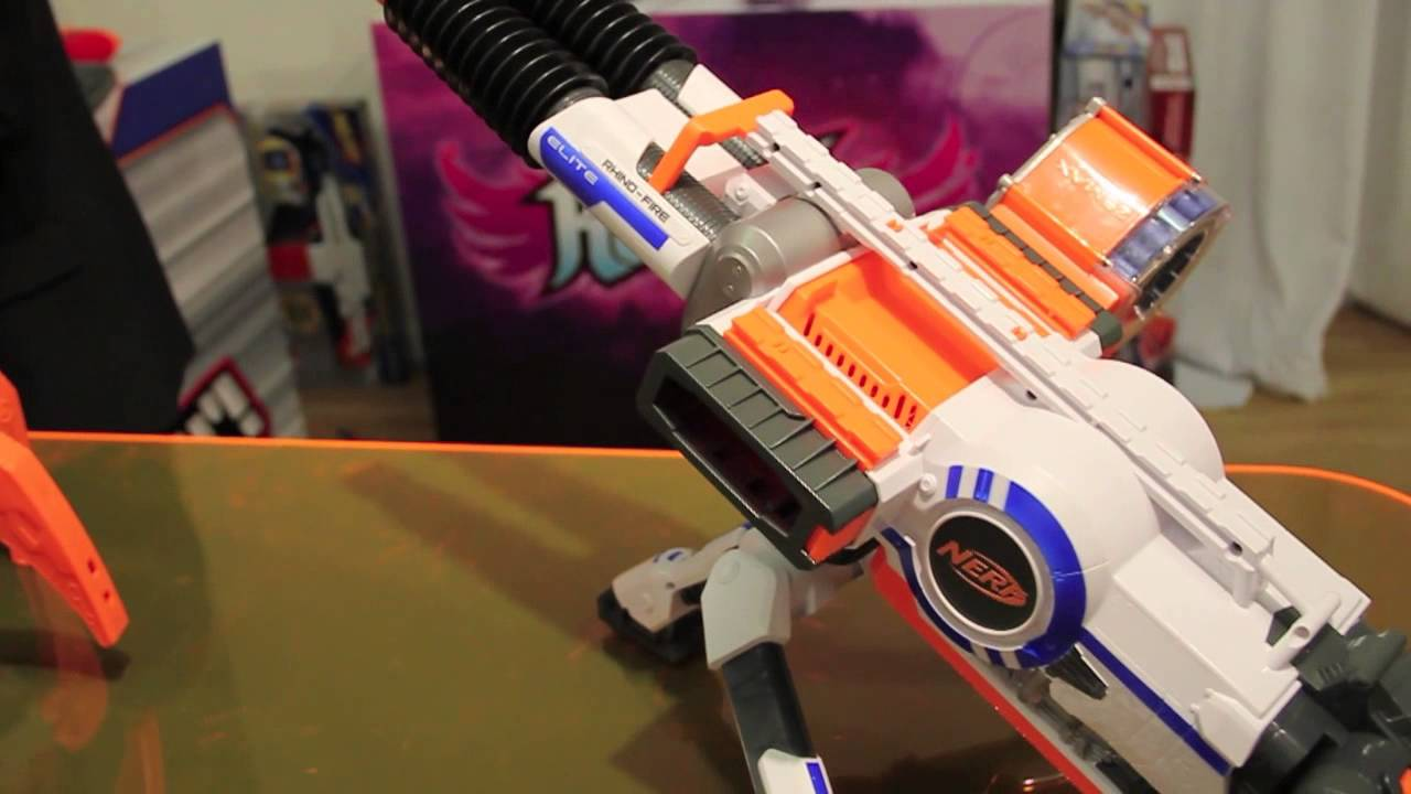 nerf nstrike elite rhinofire hands on first look at