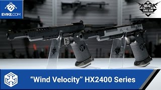 "AW Custom ""Wind Velocity"" HX2400 Series - [The Gun Corner] - Airsoft Evike.com"