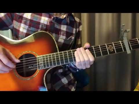 """Imagine Dragons - """"Bad Liar"""" guitar tutorial"""