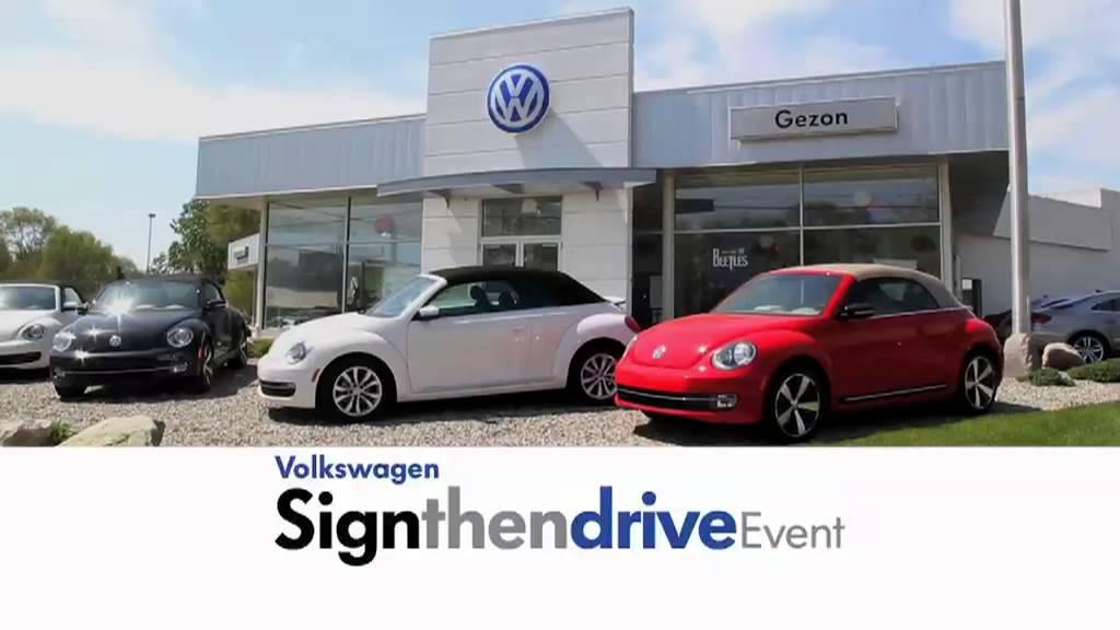 Gezon Volkswagen 100 Year Anniversary Youtube