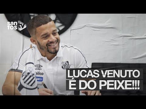 LUCAS VENUTO É O NOVO REFORÇO DO SANTOS