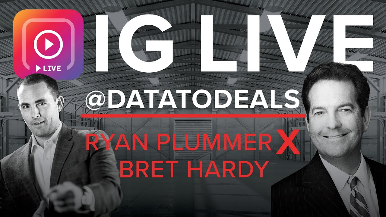 IG LIVE: Industrial Capital Markets Update | Ryan Plummer with Special Guest, Bret Hardy