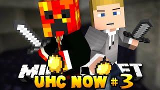 """LUCKY DIAMONDS?!"" - UHC NOW! #3 (Season One) - w/ Preston & Kenny - Minecraft Ultra Hard Core"