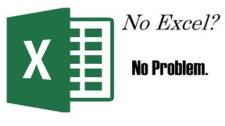 Open Excel Files Without Excel