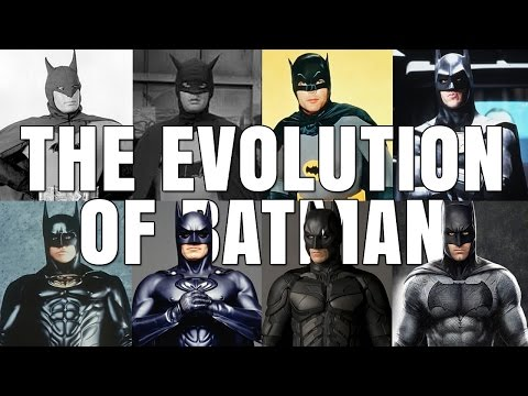 BATMAN - The evolution of the superhero movie character