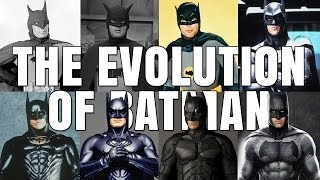 BATMAN - The evolution of the superhero movie character