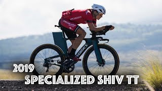 The New 2019 Specialized Shiv TT with Sarah True