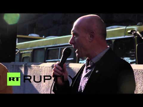 Ukraine: Watch miners blast Poroshenko's gov in labour protest