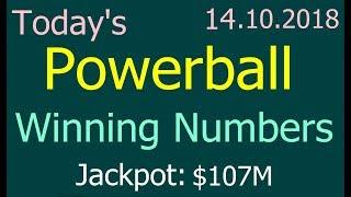 Powerball Winning Numbers 14 November 2018. Today powerball drawing 11/14/2018