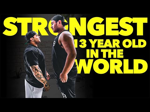 Strongest 13 Year Old In The World | Mock Meet
