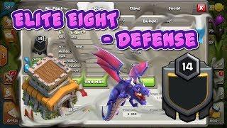 II Inside Elite Eight | Defense | Clash Of Clans II