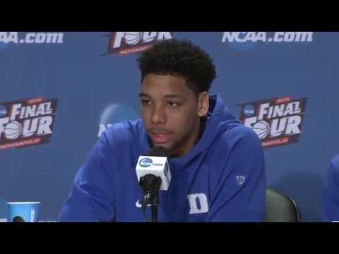 Championship Preview News Conference: Duke