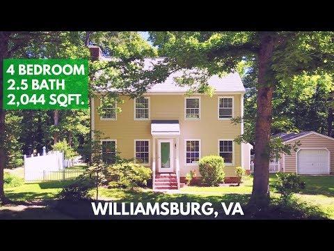 Williamsburg, VA 23188 House for Sale - 4 Bedroom, 2.5 Bath - 2,044 Sq.Ft.