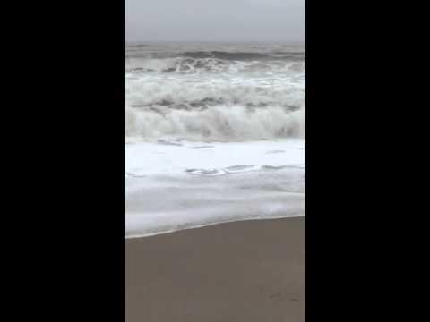 Maine Surf After the Storm April 21 2015
