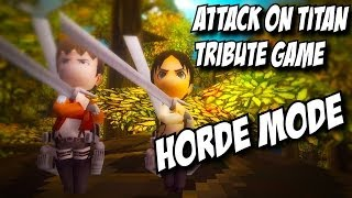 Attack on Titan Tribute Game Multiplayer | Forest 2 Horde Mode | Part 1