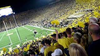 Michigan Stadium Attendance Announced Under the Lights