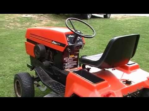 Ariens GT 16 Hydrostatic YouTube