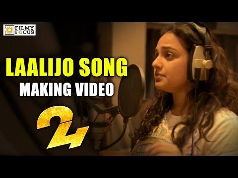 Laalijo Song Making || 24 Movie Songs || Nithya Menen, Suriya - Filmyfocus.com