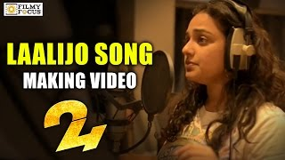 laalijo song making 24 movie songs nithya menen suriya   filmyfocuscom