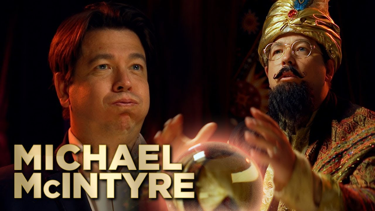 Michael Mcintyre visits Fortune Teller Before Lockdown!