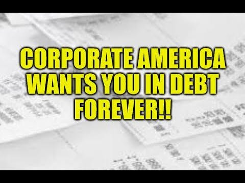 CORPORATE AMERICA WANTS YOU IN DEBT, STIMULUS PARTY ENDING, HIGH EARNERS STRUGGLE WITH BILLS