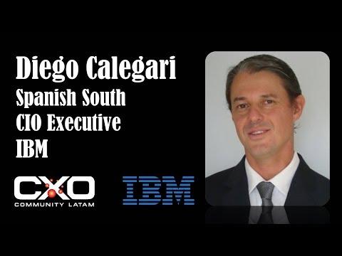 #Entrevista IBM Diego Calegari CIO South Cone  @IBMArgentina @DieCale @CXOcommunity