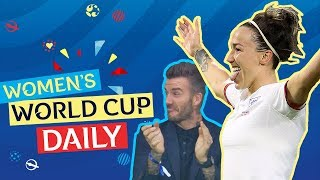 Bronze nets thunderbolt, England advance as Beckham watches on | Women's World Cup Daily