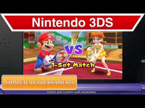 Nintendo 3DS - Mario Tennis Open Launch Trailer