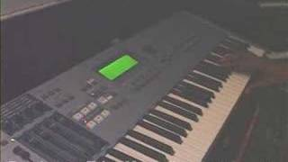 Yamaha Motif ES Nate Tinsley Part 2 of 3