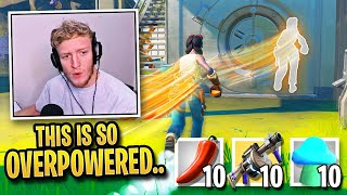 Tfue DISCOVERS Most OVERPOWERED Landing Spot in Season 3! (Fortnite)