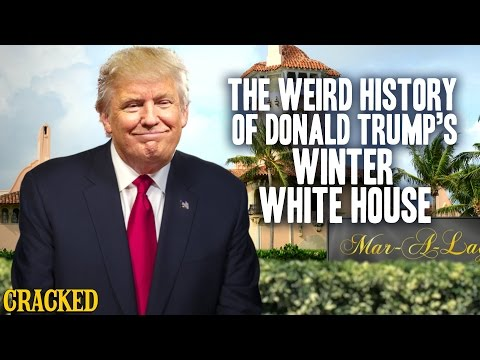 The Weird History of Donald Trump's Winter White House (Mar-A-Lago)