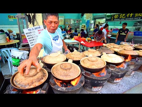 Kuala Lumpur Chinatown Street Food Guide!! FLAMING HOT CLAYPOT + Chinese Street Food in Malaysia