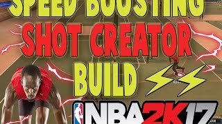 speed boosting shot creator tutorial   cheesy   2k god   best build