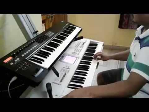 Naa hrudayamulo nee matale Keyboard songs