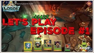 Lords Mobile: F2P Let's Play Episode #1