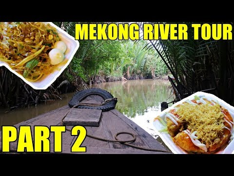 Vietnam Street Food! The Mekong Delta (Part 2) Vietnam Travel Vlog