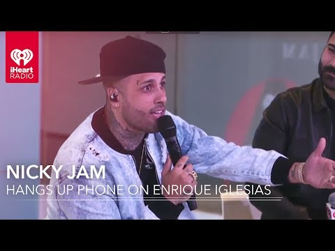 Nicky Jam Explains Why He Hung Up On Enrique Iglesias | Exclusive Interview