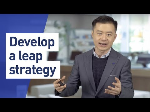 LEAP Online program - Business growth strategies course with Howard Yu