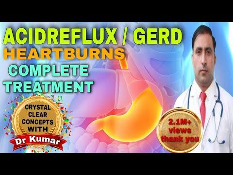 ACID REFLUX | GERD | HEART BURN | COMPLETE SOLUTION & DIET | in HINDI