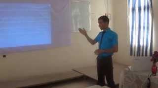 الطالب عبد الكامل بن عمر : مناقشة مذكرة الماستر تخصص تدقيق محاسبي