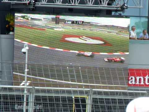 F1 Santander British Grand Prix 2011 @  Silverstone(start)