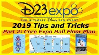 D23 Expo 2019 Preparation Tips and Tricks Part 2: Anaheim Convention Hall Layout