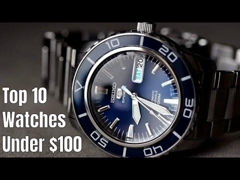Top 10 Watches Under $100