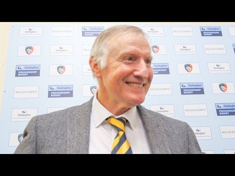Alan Solomons - We need to enjoy the moment