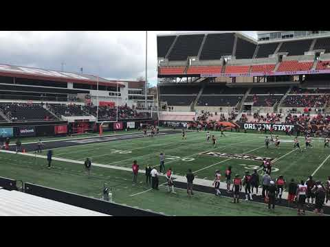 Oregon State Beavers - Oregon State spring game features strong showings by Luton, Irish & Baylor!