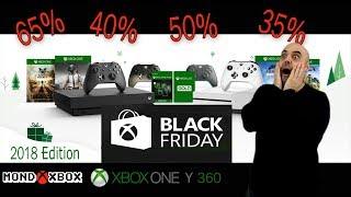 Ofertas del Black Friday para Xbox One y Xbox 360 2018 |MondoXbox