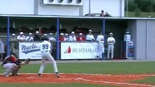 ME v baseballu: RUS-CZE 4:7 (Třebíč, July 20)