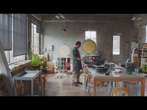 Inside the Clay Studio of Tung Chiang | Heath Ceramics